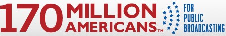 logo for 170 Million Americans for Public Broadcasting